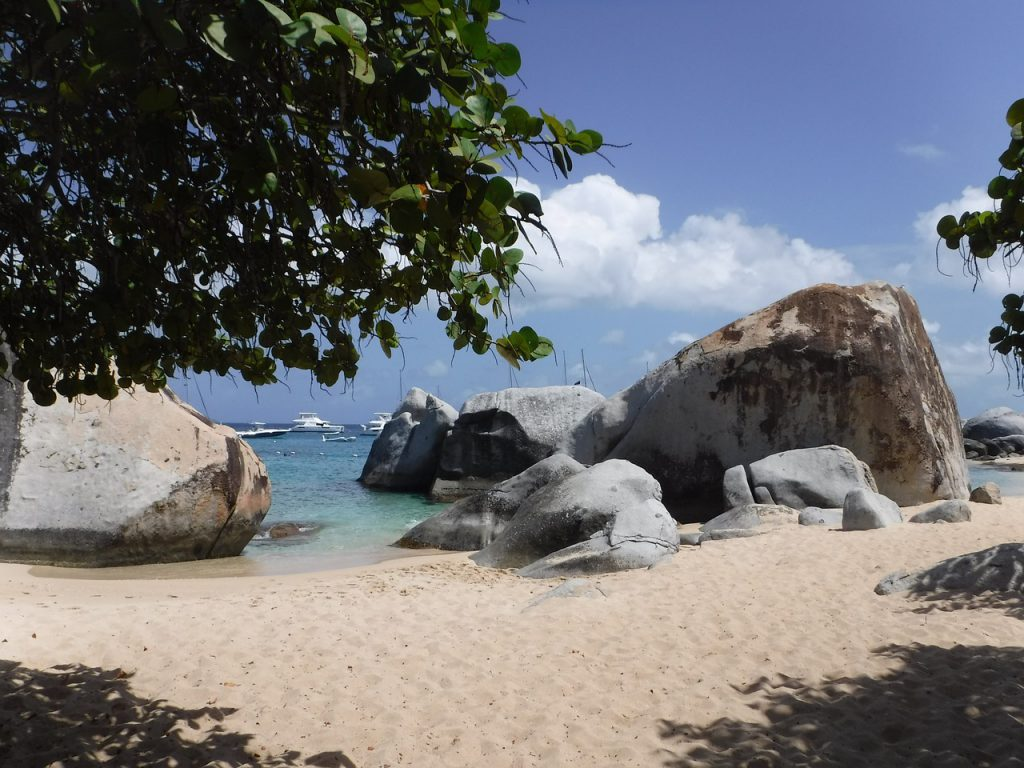 spiaggia bvi